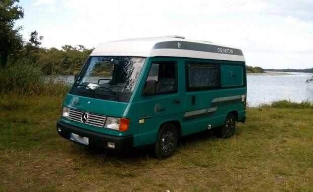 Mercedes mb100 diesel campervan for Mercedes benz campervan usa